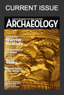 archaeology magazine copy
