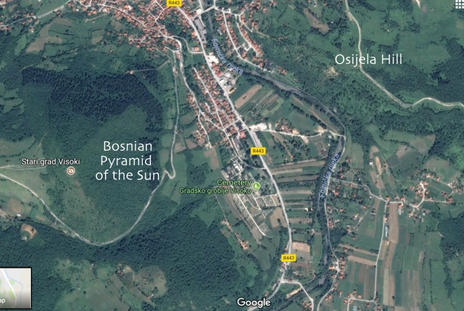 Map general showing location of Osijela Hill across from the Bosnian Pyramid of the Sun with text_edited-1 GOOD