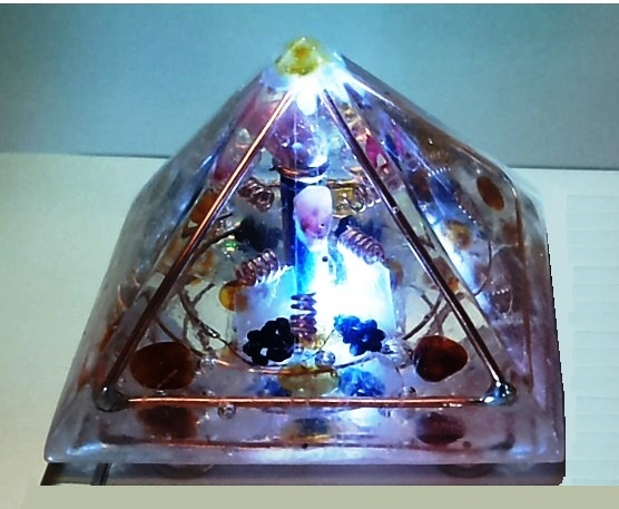 Orgonite Pyramidal Resonator