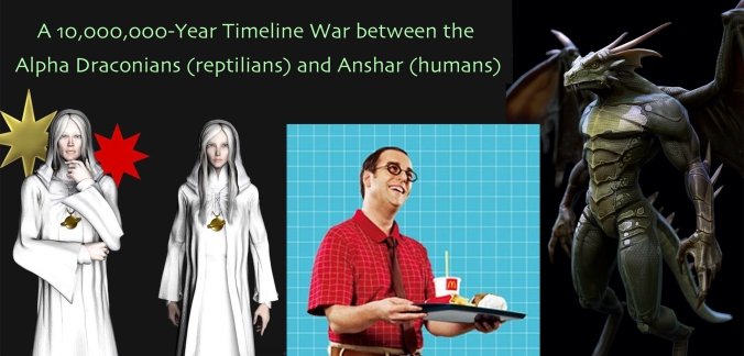 A 10,000,000-Year Timeline War between Reptilians (Draco) and Humans