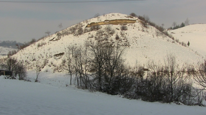 Conical Vratnica Tumulus