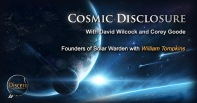 cosmic dislcosure cover art long - founders of solar warden