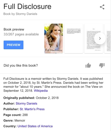 Full Disclosure book