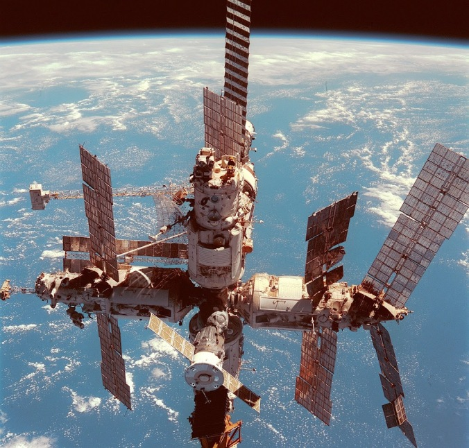 Russian modular space station MIR