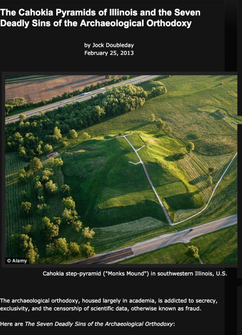 The Cahokia Pyramids of Illinois and the Seven Deadly Sins of the Archaeological Orthodoxy Screen-Shot 2019-02-13 at 5.06.52 PM copy