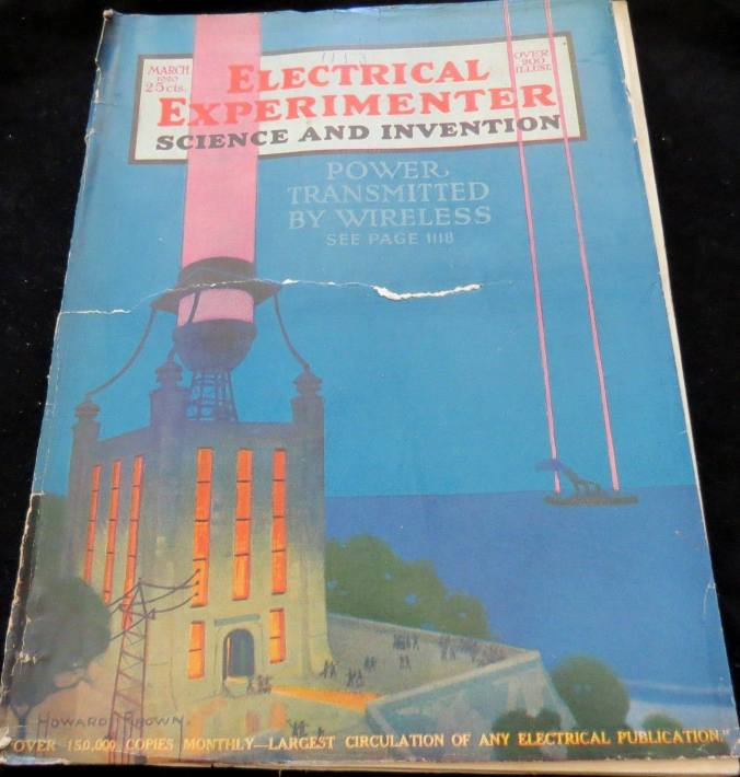 Electrical Experimenter : Science & Invention, March 1920.