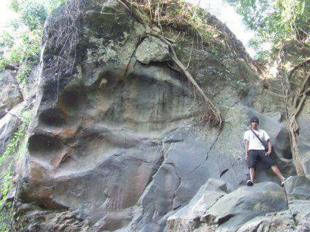 giant footprint Indonesia