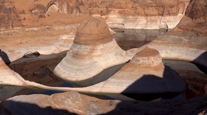 2 The Terraforming of Terra, Reflection Canyon, Utah, U.S. Section Seam 5 CLOSE-UP